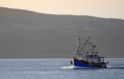 fishingboat Obrazy Stock