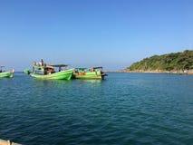 Fishingboat de Ngwesaung Imagem de Stock