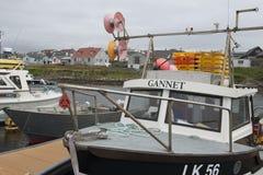 Fishingboat havssula Arkivbilder
