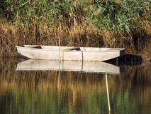 Fishingboat on the lake Royalty Free Stock Image