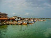 Fishingboats 免版税图库摄影