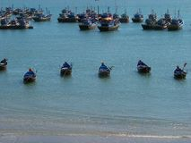 Fishingboats Fotografia Stock