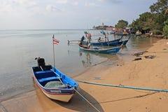 Fishingboats, Koh Samui, Tailandia Fotografie Stock
