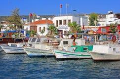 Fishingboats, Turcja Obrazy Royalty Free