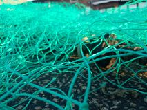 Fishingnet stock afbeeldingen