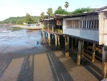 Fishingvillage. Fishing sea sunrise Stock Photography