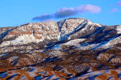 Fishlake National Forest Utah. Mountains of the Fishlake National Forest in Utah stock photo