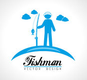 Fishman Royalty Free Stock Images
