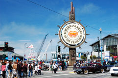 Fishmans Wharf Stock Photography