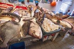 Fishmarket в Танжере, Марокко стоковые изображения rf