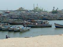 Рыбацкие лодки стоковое фото rf