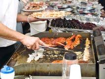 fishmarket bergen Стоковое Изображение