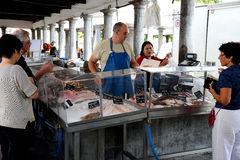 Fishmarket in Bruge Royalty Free Stock Image