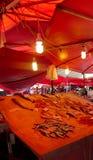 Fishmarket, Catane, Sicile Photographie stock libre de droits