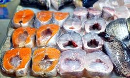 Fishmarket dans Taiwan Photographie stock