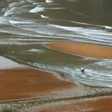 Fishmen auf dem Meer Lizenzfreie Stockbilder