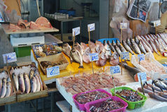 Fishmonger Fotos de Stock Royalty Free