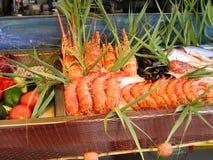 fishmonger Стоковое фото RF