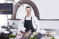 fishmonger стоковая фотография
