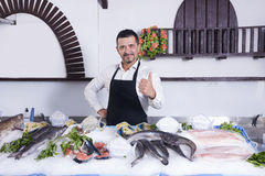 fishmonger Obraz Stock