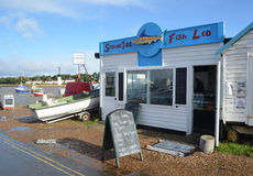 Fishmonger Felixstowe Ferry Royalty Free Stock Image