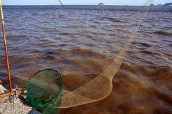 Fishnet Stockfoto