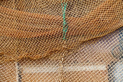 Fishnet Background Stock Photo