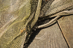 Fishnet Closeup Royalty Free Stock Photo