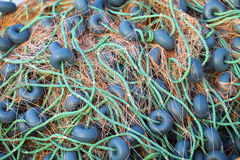 Fishnet and Fishing Lines Royalty Free Stock Image