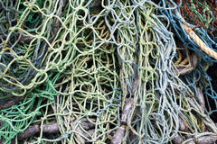 Fishnet and Fishing Lines Stock Images
