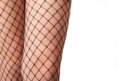 Fishnet stockings Royalty Free Stock Images