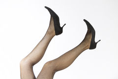 Fishnet stockings Royalty Free Stock Photography
