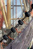 Fishnets Images libres de droits