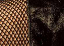 Fishnets do poliuretano Fotos de Stock Royalty Free
