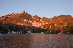 Fishpole Lake at Sunrise stock image