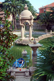 Fishpond in Grock's Villa Stock Images