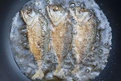Fishs fritados da cavala Imagem de Stock