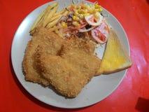 FishSteak Fotografie Stock Libere da Diritti