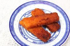 Fishsticks royalty-vrije stock foto's