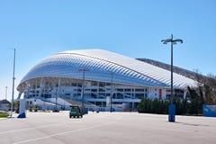 Fisht奥林匹克体育场是一个露天体育场在索契 免版税图库摄影