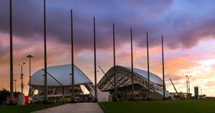 Fisht Olimpijski stadium w Sochi, Adler, Rosja Obrazy Stock