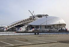 Fisht Olympic Stadium is being reconstructed Royalty Free Stock Photos