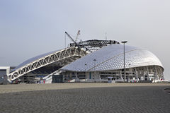 Fisht Olympic Stadium is being reconstructed Stock Photography