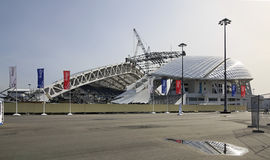 Fisht Olympic Stadium is being reconstructed Royalty Free Stock Photography