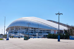 Fisht Olympic Stadium is an open-air stadium in Sochi Royalty Free Stock Photography