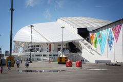 Fisht Olympic Stadium at XXII Winter Olympic Games Stock Image