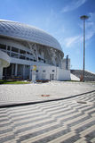 Fisht Olympic Stadium at XXII Winter Olympic Games Stock Photo