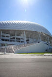 Fisht Olympic Stadium at XXII Winter Olympic Games Royalty Free Stock Photo