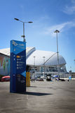 Fisht Olympic Stadium at XXII Winter Olympic Games Royalty Free Stock Photos