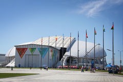 Fisht Olympic Stadium at XXII Winter Olympic Games Royalty Free Stock Images